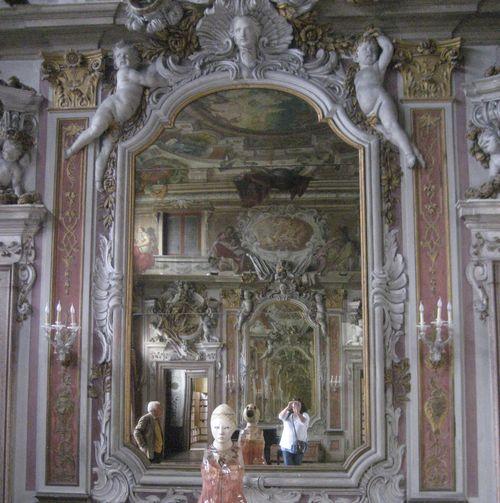 Inside a pallazo